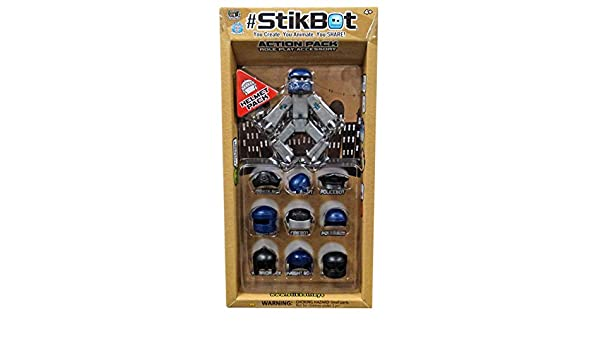 StikBot Action Pack Accessory Set Helmet Pack by Stikbot Zing SG/_B01M4S94DU/_US