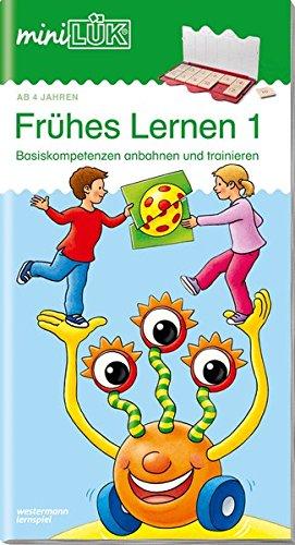 miniLÜK-Übungshefte / Kindergarten: miniLÜK: Kindergarten/Vorschule: Frühes Lernen 1