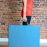 Sportmatte klappbar, 180cm 3-fach faltbare Fitnessmatte und Gymnastikmatte für Zuhause, ideal als Turnmatte oder als weiche Yogamatte und Trainingsmatte; 180 cm lang * 60 cm breit * 5 cm dicke Vergleich
