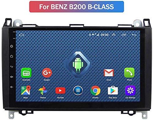Android Car Navigation Stereo Mit 9 Zoll Touchscreen Für Benz B200 B-Class Viano Vito Multimedia-Autoradio, WiFi/BT-Tethering-Internet, Unterstützung Für 64G SD Und Mehr/2DIN
