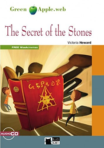 The secret of the stones+cd - rom (fw) n/e (black cat green apple)