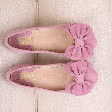 Confortevole ed elegante piatto scarpe donna Appartamenti Punta tonda / punta chiusa / Appartamenti Casual tacco piatto BowknotBlack / blu / giallo / rosa / Blue