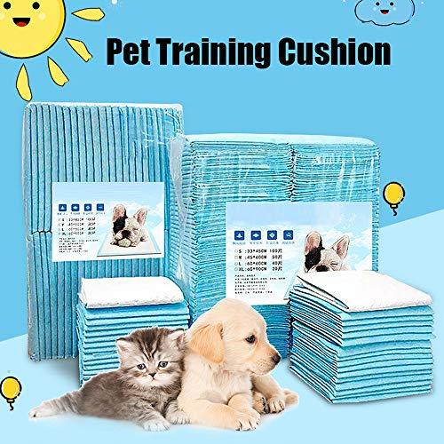Pads Super Saugfähig NUGI Welpen Pads Leck gratis-Home Schutz Geruch Beseitigung Hund Pads, 22''x22''(40 Count), weiß ()