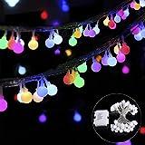 B-right 40 LEDs Globe Lichterkette, LED lichterkette bunt, Globe String Licht Sternenlicht, Innen- und Außen Deko Glühbirne, Weihnachtsbeleuchtung für Weihnachten / Hochzeit / Party/Weihnachtsbaum.