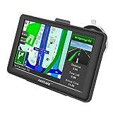 Navigatore satellitare 17,8cm touch screen capacitivo auto sistema di navigazione GPS with Lifetime Map Updates britannici ed europei.