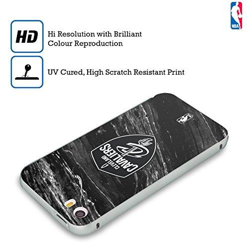 Ufficiale NBA Banner Cleveland Cavaliers Argento Cover Contorno con Bumper in Alluminio per Apple iPhone 6 Plus / 6s Plus Marmo B&N