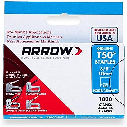 Arrow Graffe T50 Box 1000 - Monel 3/8