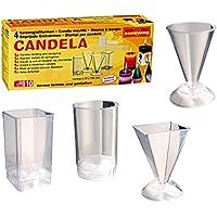 Candela Moules à bougies, set de 4