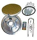 Buderus Mischsystem komplett Set BRE 1.2-28 kW geeignet für schwefelarmes Heizöl mit Anleitung