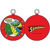UNIVERS DC Superman Peace on Earth Boule de Noël, blanc