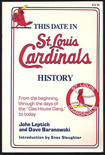 Louis Cardinals Stein (This date in St. Louis Cardinals history)