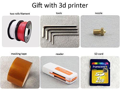 FLSUN F5 3D Drucker, Touchscreen Doppel Extruder DIY Drucker Kit Auto Nivellierung Druck Größe 260X260X350mm mit Beheizten Bett und Wifi Modul - 9