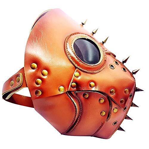 YaPin Neuheit Steampunk Pest Doktor Maske Halloween Weihnachten Cosplay Bar Party Leistung Requisiten