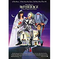 Beetlejuice Poster Borderless Vibrant Premium Movie Poster Various Sizes (A3 Size 16.5 x 11.7 Inch / 420 x 297 mm)