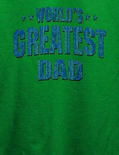 Worlds Greatest Dad T-Shirt Grün