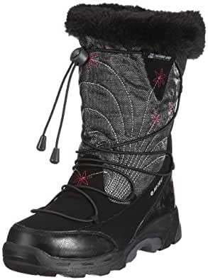 Hi-Tec Glencoe, Women's Snow Boots, Black/Graphite/Magenta, 4 UK