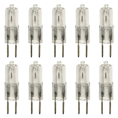10 Stück Halogen-Stiftsockellampe GY6,35, 12V, 35Watt