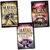 The Mayan Trilogy Collection Steve Alten 3 Books Set (The Mayan Prophecy, The...