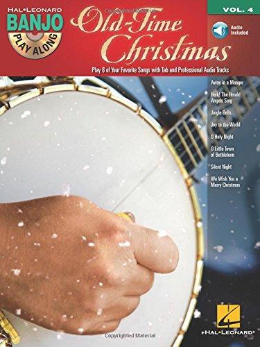 Old-Time Christmas: Banjo Play-Along Volume 4
