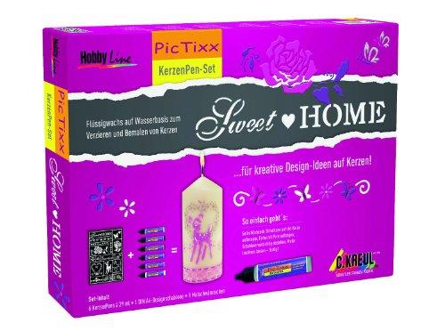 hobby-line-49750-pic-tixx-kerzenpen-set-sweet-home