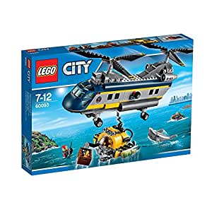 Lego Deep Sea Helicopter 60093 Amazoncouk Toys Games