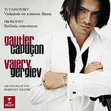 Tchaikovsky: Rococo Variations - Prokofiev: Sinfonia Concertante