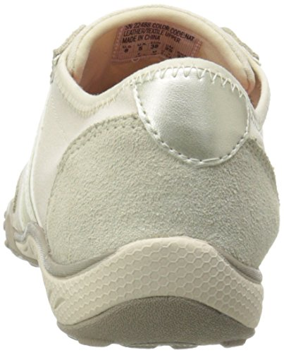 Skechers Sport Cool It Fashion Sneaker Gamuza Natural / Malla / Oro Ligero Trim