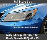 US Style Scheinwerfer Folie Set V1 pass. zugeschn. für Skoda