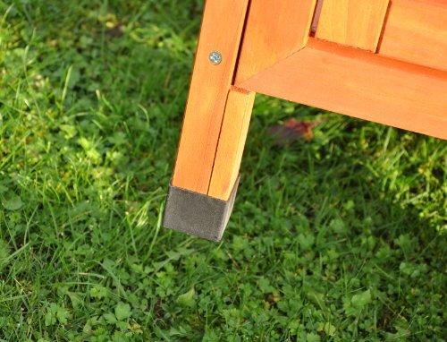 Kaninchenstall XXL von Nanook 160 x 60 x 113 cm - 6