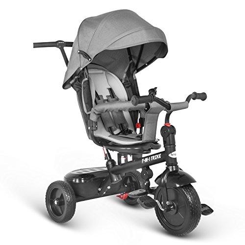 besrey 7 en 1 Tricycle Vélo Réversible Evolutif...