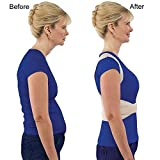 Clomana Royal Posture Back Support Brace Corrects Slouching And Eases Pain - S