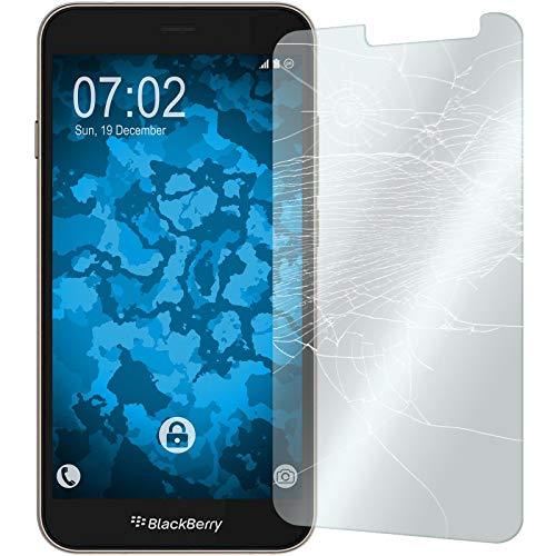 PhoneNatic 2 x Glas-Folie klar kompatibel mit BlackBerry Aurora - Panzerglas für Aurora