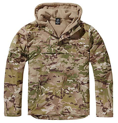 Brandit windbreaker, giacca a vento, giubbotto impermeabile, uomo, tactical camo xxl