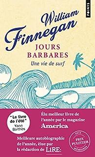 Jours Barbares William Finnegan Babelio