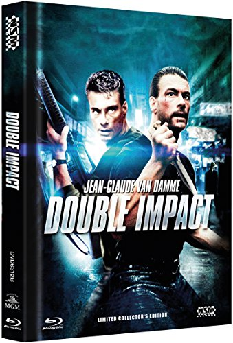 Bild von Geballte Ladung - Double Impact - uncut (Blu-Ray+DVD) auf 999 limitiertes Mediabook Cover B [Limited Collector's Edition] [Limited Edition]