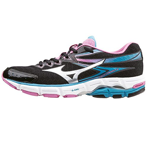 mizuno-scarpa-da-running-wave-connect-2-wos-nero-turchese-eu-38-us-75