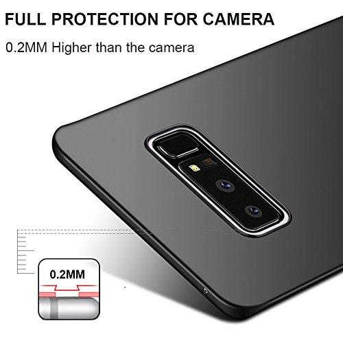 Coque Samsung Galaxy Note8, MSVII® Très Mince Coque Etui Housse Case et Protecteur écran Pour Samsung Galaxy Note 8 - Violet JY00351 Or