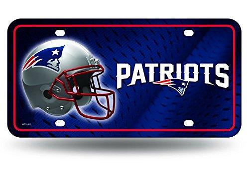 Unbekannt NFL Metall Auto Tag, Unisex, Team Color