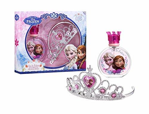 Air-Val Air val disney frozen die eiskönigin geschenk-set 1er pack eau de toilette spray 100 ml haarreifen diadem krone tiara