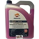 Repsol Anticongelante Refrigerante Organico 50% 5 litros