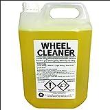 WHEEL CLEANER 5 LITRE (L)   Professional Grade   Acid Based   Dilute 1:10