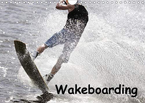 Wakeboarding (Wandkalender 2020 DIN A4 quer): Profisportler beim Wakeboarden: Ein schneller und spektakulärer Wassersport. (Monatskalender, 14 Seiten ) (CALVENDO Sport)