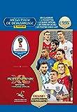 Panini France SA Coupe du monde 2018 TCG Starter 1 classeur + 4 pochettes + tapis de jeu + guide 32 pages + mini book checklist ou poster + 2 cartes éd.limitée - version française