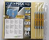 10 x ZeroMax Archivordner BEIGE A4 überbreit PLUS JAPAN