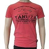 Yakuza T-Shirt  Shutup  - TSB 8009 geranium moonwashed