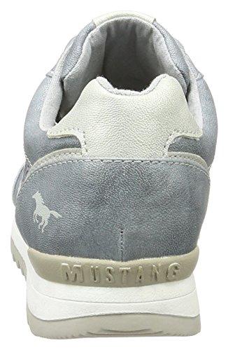 Mustang 1241-301-852, Scarpe da Ginnastica Basse Donna Blu (852 Heaven)