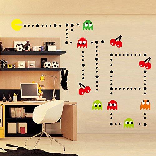 ufengker-fumetto-pac-man-giochi-adesivi-murali-camera-dei-bambini-vivai-adesivi-da-parete-removibili