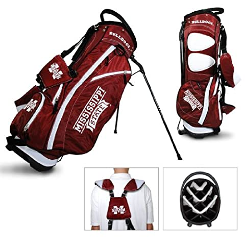 NCAA Mississippi State Bulldogs Fairway Stand Golf Bag