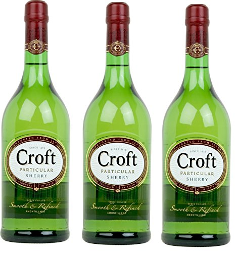 Croft Particular Vino D.O. Jerez Pale Cream - 3 Botellas X 1000 Ml - Total: 3 L