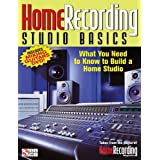 Home Recording Studio Basics: What You Need to Know to Build a Home Studio [With DVD] by Jon Chappell (2011-01-02)